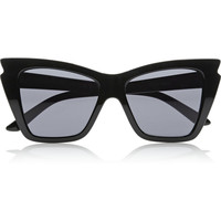 Le Specs | Rapture cat eye acetate sunglasses | NET-A-PORTER.COM