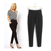 High Waist Harem Pants Trousers