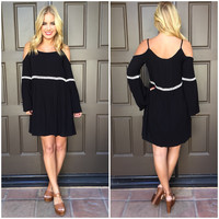 Live a Little Off Shoulder Dress