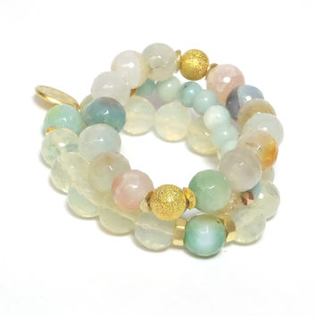 PASTELIE STONE Bracelets - Set of 3