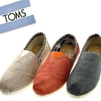 ESBUIB TOMS Women Fashion 'National lace' FLAT SHOES CLASSICS FLAT TOMS SHOES