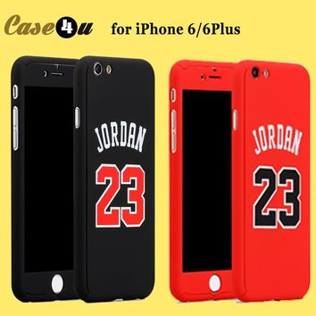 for iphone 6s basketball player hard phone case jordan kobe bryant curry 360 full body case cover for iphone 7 6 plus capinhas  number 1