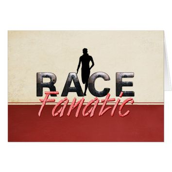 TOP Track Race Fanatic Card