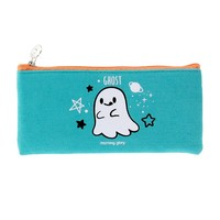 Moongs Ghost - Slim Canvas Pencil Case