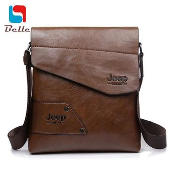 Men Bag High Quality leather Messenger Handbags