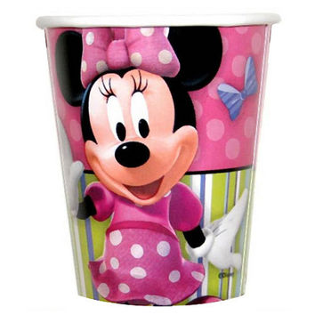 Minnie Mouse Party Cups [8 Per Pack]