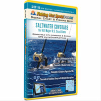 Fishing Hot Spots Pro SW Fishing Chip - Saltwater Coastlines Coverage 2015