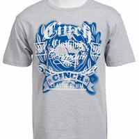 Cinch® Men's Heather Grey Logo Short Sleeve Tee MTT1690081
