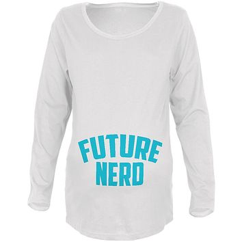 Future Nerd Maternity Soft Long Sleeve T Shirt