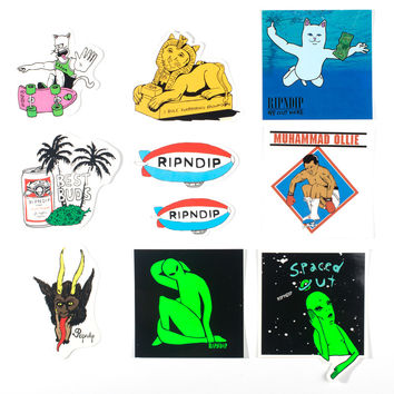 RIPNDIP SPRING STICKER PACK