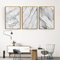 NEW Abstract Marble Nordic Poster Canvas Oil Painting Picture Modern Wall Art Pop Wall Pictrues For Living Room Decor, NO Frame