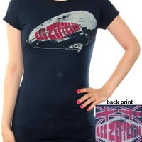 Led Zeppelin Girls T-Shirt - 77 Zeppelin