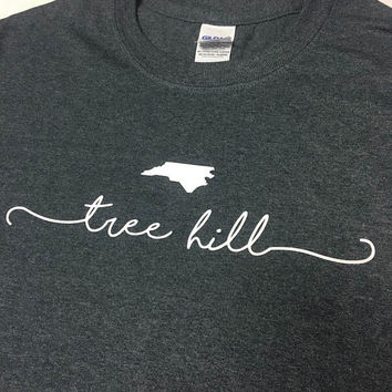 Tree Hill North Carolina T Shirt - One Tree Hill Clothing