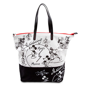 Disney Mickey and Minnie Mouse ''1928'' Tote Bag | Disney Store