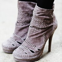 Jeffrey Campbell + Free People Womens Ivy Woven Heel