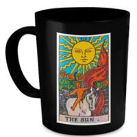 The Sun Tarot Card Coffee Cup Mug sunmug