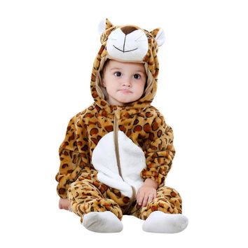Baby/Toddler Hooded Cheetah Costume
