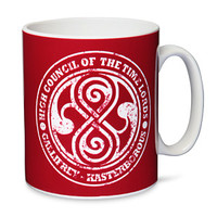 Doctor Who High Council of the Time Lords Mug
