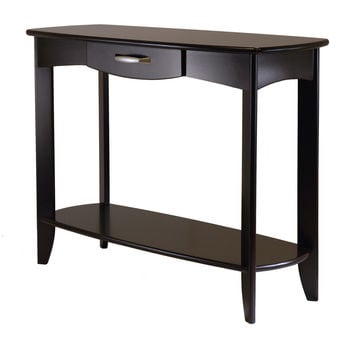 Winsome Wood Stylish Danica Console Table with Single Drawer