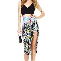 Nasty Gal Take It To The Max Midi Skirt