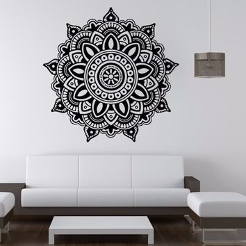 Kingdome Indian Buddhist Art Decoration Wall Decals Stickers Mandala The Sitting Room the Bedroom Home Decor  OR Kitchen Oilproo