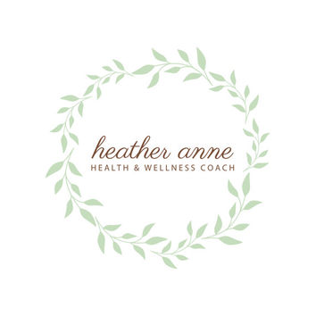 Pre-Made Wreath Health Wellness Coach Boutique Homemade Party Events Planning Accessories Photography Jewelry Any Business Shop Logo