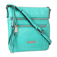 Calvin Klein Key Item Leather Crossbody Turquoise - Zappos.com Free Shipping BOTH Ways