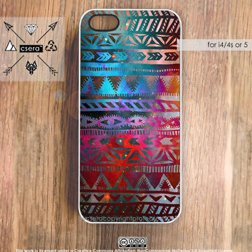Galaxy i4s Aztec iPhone Case iPhone5 Case iPhone by casesbycsera