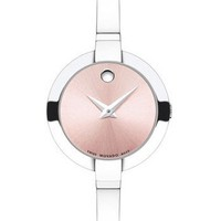 Movado Women's Bela Watch with Pink Soleil Museum Dial 0606596