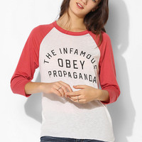 OBEY Infamous Raglan Tee - Urban Outfitters