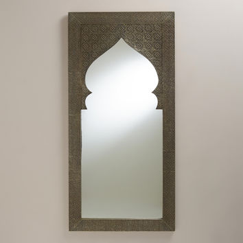 Metal Clad Sana Mehrab Mirror - World Market