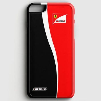Fernando Alonso F1 Formula Scuderia Ferrari Team iPhone 6 Plus/6S Plus Case