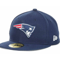 New England Patriots NFL Official On Field 59FIFTY Cap