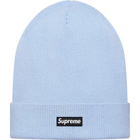 Supreme: Solid Beanie - Light Blue