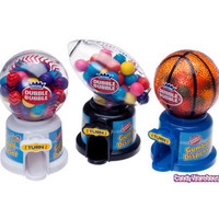 Hot Sports Gumball Dispensers: 12-Piece Box | CandyWarehouse.com Online Candy Store