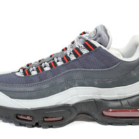 Nike Men's Air Max 95 Essential Grey Anthracite/Black Running Shoes 655206 006