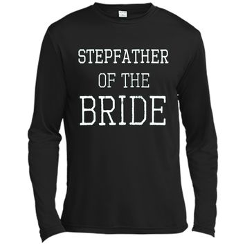Men's Stepfather of the Bride - Coordinating Wedding Party Shirts Father's day t-shirt