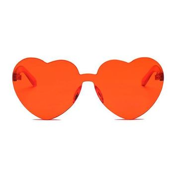 The Naked Heart Sunglasses Red