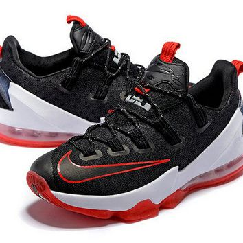 Spring Summer 2018 How To Buy Lebron 13 Low 2016 Rio Olympics Black Sport Red Brand sneaker