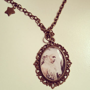 Game of Thrones Khaleesi Cameo Necklace  by RabbitJewellery