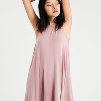 AE Knit Shift Dress, Blush