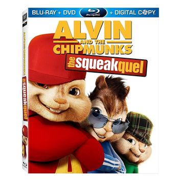 Alvin and the Chipmunks 2: The Squeakquel on Blu-Ray