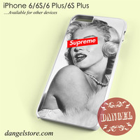 merlyn monroe supreme Phone case for iPhone 6/6s/6 Plus/6S plus