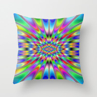 Bright  design , Throw Pillow Cover .
