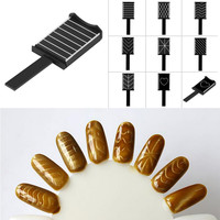 Trendy Patterns Magnet Plate Wand Board Nail Art for DIY 3D Magnetic Polish 8 Picture to choose