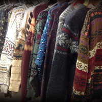 New Mystery Sweaters in ////////retro////hipster////vintage