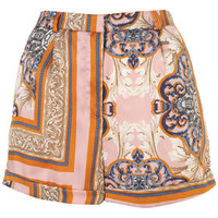 Scarf Print Shorts - Pants & Shorts -New In This Week- New In - Topshop USA