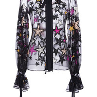 Embroidered Stars Shirt | Moda Operandi