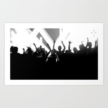 Dance Party Art Print by Derek Delacroix