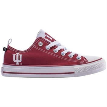 Indiana Hoosiers Women's Low Top Sneakers